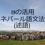 छの活用-ネパール語文法(述語)